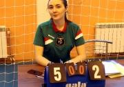 судья-секретарь Федерации волейбола РТ Динара Кашипова