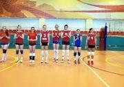 женская студенческая команда КГАСУ ( тренер Елена Баченина)
