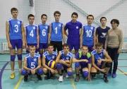 команда юношей Аксубаевского района ( тренер  Анфиса Ишметова)
