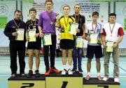 капитаны команд и тренеры  победителей и призеров Первенства РТ среди юношей 2000-2001 г.р.