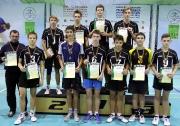 команда Сармановского  района ( тренер Эдуард Ихсанов) заняла второе место в Первенстве РТ среди юношей 2000-2001 г.р.