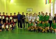 общая фотография победителей и призеров Первенства РТ по волейболу среди юношей 2002-03 г.р. сельских районов и малых городов