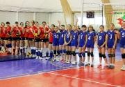 юные волейболистки ДЮСШ Буинска