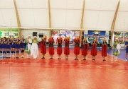 торжественная церемония открытия спорткомплекса