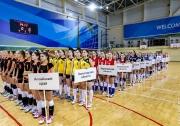 исполняются гимны Российской Федерации и Республики Татарстан