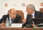 идет заседание Конференции Федерации волейбола РТ
