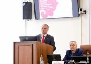 выступления председателя комитета студенческого волейбола ФВРТ Эдуарда Можаева