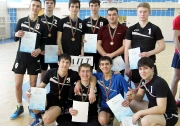 команда АПТ (Альметьевского политехнического техникума) (тренер Марат Вагизов) заняла третье место