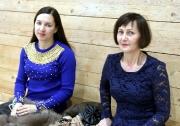 болельщики -родственники Адели Ахметовой