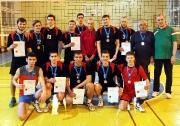 команда КГАСУ (тренер Фоат Касимов) заняла третье место
