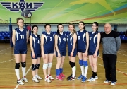 команда КНИТУ-КАИ ( тренер Равиль Галяутдинов)