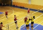 момент игры за бронзовые медали между командами КФУ-КГАСУ 3:2