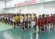 торжественная церемония открытия Первенства РТ  по волейболу среди девушек 2002-2003 г.р.  в Алексеевске