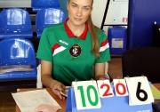 судья-секретарь Федерации волейбола РТ Евгения Ульянина