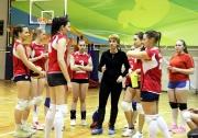 тайм-аут команды  КГАСУ берет тренер Елена Баченина
