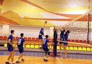 момент игры мужских команд ПГАФКСиТ- КАИ  3:0
