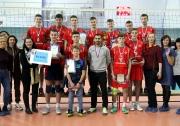 Всероссийский турнир  по волейболу среди юношей 2004 г. в Казани