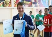 Тренер  команды  КГАУ - Казанского аграрного университета  Дмитрий Елистратов, занявшей третье место
