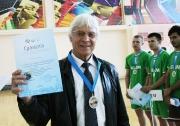 Тренер  команды  КГАВМ - Казанской академии ветеринарной медицины  Саид Чинкин , занявшей второе место
