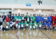 Общая фотография команд -победителей и призеров Финала Чемпионата СВЛ РТ среди мужских команда Дивизиона А