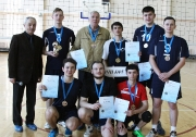 Первое место завоевала команда НЧИ КФУ -Набережночелнинского института КФУ ( тренер Виктор Шибельбайн).