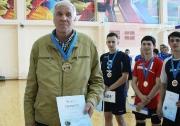 Тренер  команды  НЧИ КФУ  Виктор Шибельбайн , занявшей первое  место
