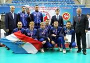 команда «РИТЭК-Самара-Нафта» заняла третье место в  Турнире по волейболу на Кубок В.И. Грайфера