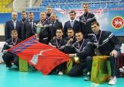 команда «Волгограднефтегаз» АО «РИТЭК»  -победитель Турнира по волейболу на Кубок В.И. Грайфера