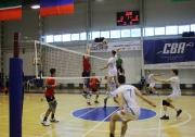 момент полуфинальной встречи команд ПГАФКСиТ и ПГНИУ