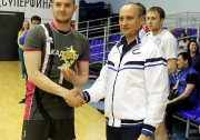 лучший игрок отборочных игр  к V летней  Всероссийской Универсиаде ( этапПФО) : Илья Белов (ПГАФКСиТ)