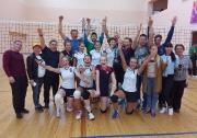 Женская команда Мензелинского района. заняла первое место