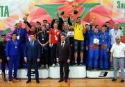 В финале мужского турнира команда Сабинского района одержала вверх над командой Буинского района. В игре за третье место команда хозяев Заинского района была сильнее команды Кукморского района.